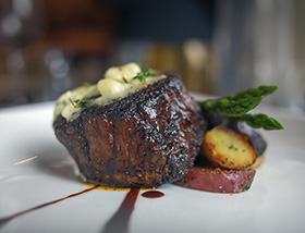 Certified Angus 8 oz Filet Mignon. Dinner at 1700 Degrees Steakhouse in Harrisburg, PA