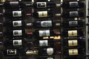 more than one thousand bottles from 1700 Degrees Steakhouse's award-winning wine list,