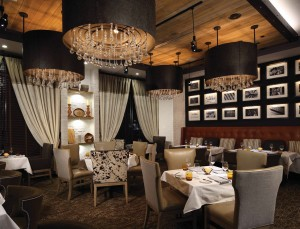 Modern Dining Room for Fine Dining at 1700 Degrees Restaurant in Harrisburg, PA
