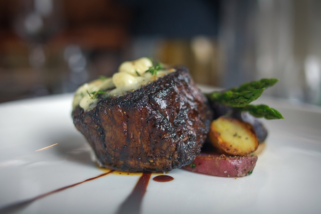 ONly the finest Steaks. Certified Angus 8 oz Filet Mignon at 1700 Degrees Steakhouse in Harrisburg, PA